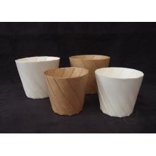防水紙花器5入 (牛皮色-大)